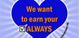 Yearly Surveys – We Want To Earn Your Always