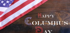 Hours for Monday October 8th, Columbus Day!