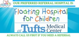 Tufts Floating Hospital – Our Preferred Referring Hospital