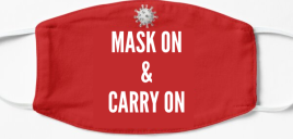 Mask On & Carry On!